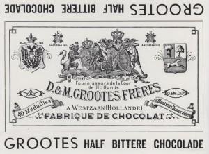 Half bittere chocolade