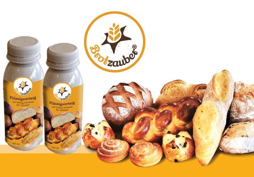 BROTZAUBER<sup>® </sup>- der innovative Flüssig-Hefe-Vorteig für Zuhause